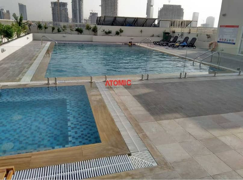 8 Amazing 1BHK | Pool View | Chiller Free