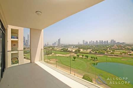 شقة 3 غرف نوم للايجار في التلال، دبي - Full Golf View | Chiller Free | 3 Bedrooms