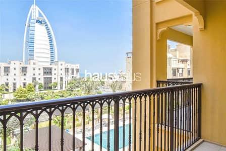 1 Bedroom Apartment for Rent in Umm Suqeim, Dubai - Burj Al Arab Views   Pool Facing   Brand New