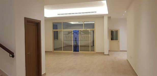 5 Bedroom Villa for Rent in Al Nahyan, Abu Dhabi - BEST OFFER! NEW BUILD COMMERCIAL AND RESIDENTIAL LAND  VILLA   5 MASTER BEDROOMS    WELL MAINTAINED