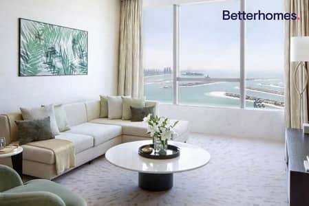 فلیٹ 1 غرفة نوم للبيع في نخلة جميرا، دبي - On the Palm | stunning 1 bedr | Palm tower