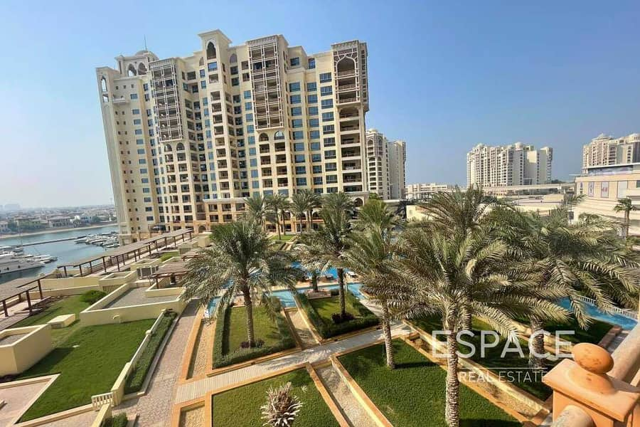 Upgraded | Sea view | 2BR Unfurnished | Vacant
