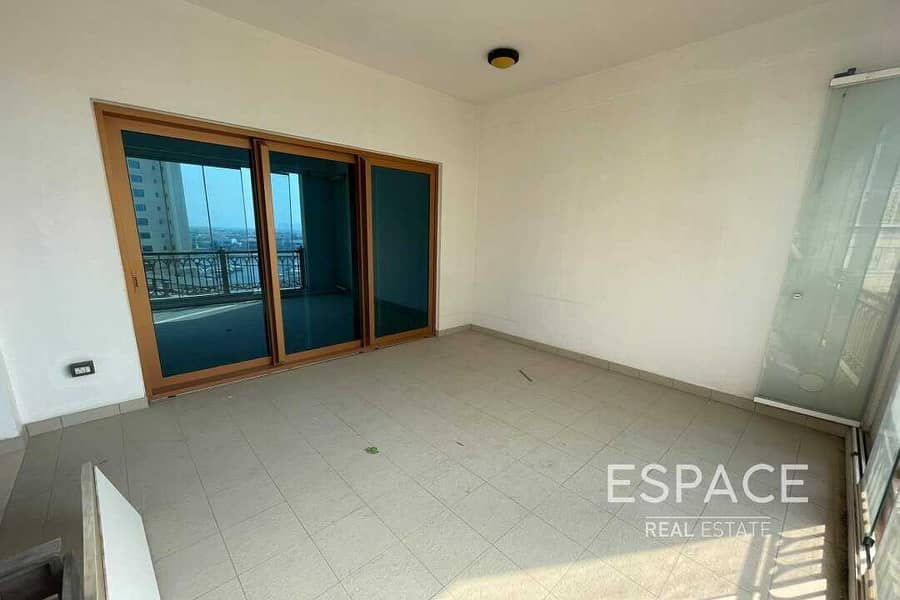 13 Upgraded | Sea view | 2BR Unfurnished | Vacant