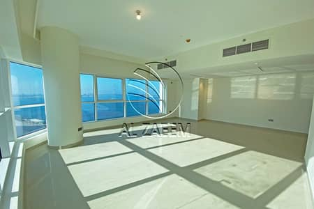 2 Bedroom Apartment for Rent in Al Reem Island, Abu Dhabi - Sea View | Mid Floor | High-end Kitchen Appliances | Balcony