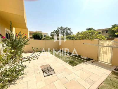 4 Bedroom Townhouse for Sale in Al Raha Gardens, Abu Dhabi - Move-in! Luxurious 4BR Type S w/ private garden