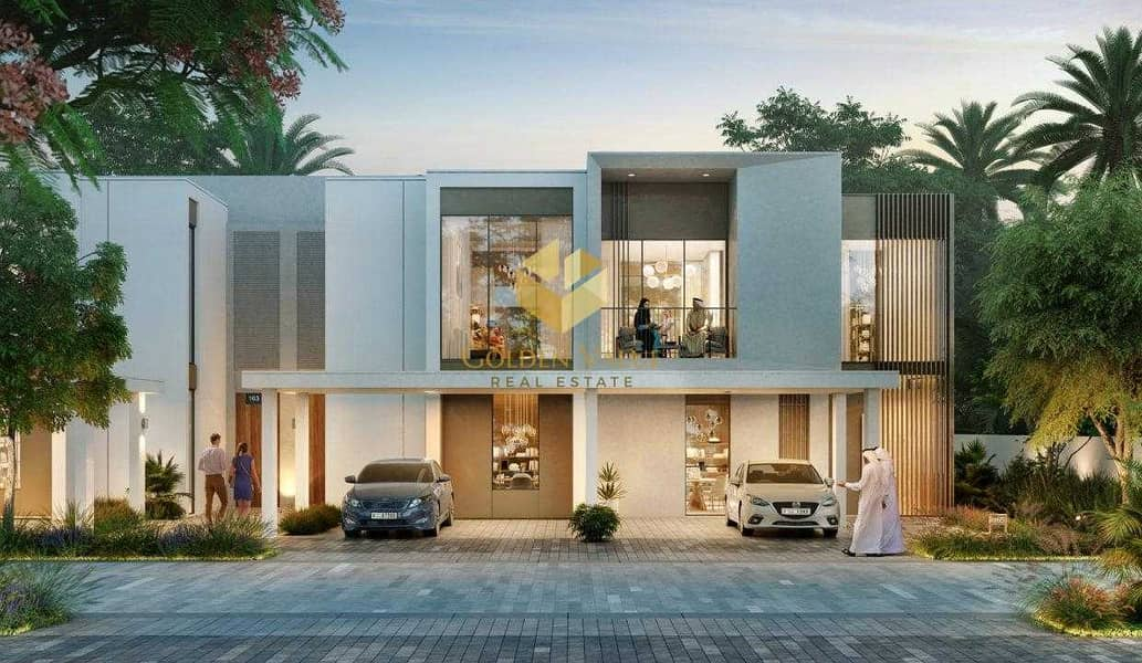 Luxury Villa Single Row   50% DLD Waiver   Excellent Investment Opportunity