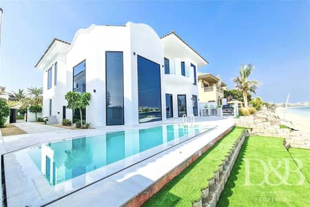 فیلا 4 غرف نوم للايجار في نخلة جميرا، دبي - Vacant On Transfer | 4 Beds | Central Rotunda
