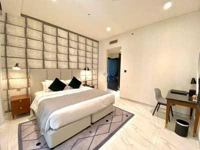 2 Bedroom Flat for Rent in Business Bay, Dubai - FULLY FURNISHED | ALL BILLS INCLUDED | BURJ KHALIFA VIEW