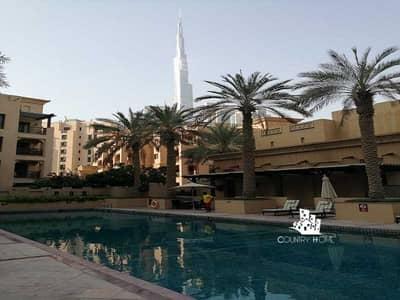فلیٹ 2 غرفة نوم للبيع في المدينة القديمة، دبي - Amazing Two Bed|Burj Khalifa View|Price Negotiable