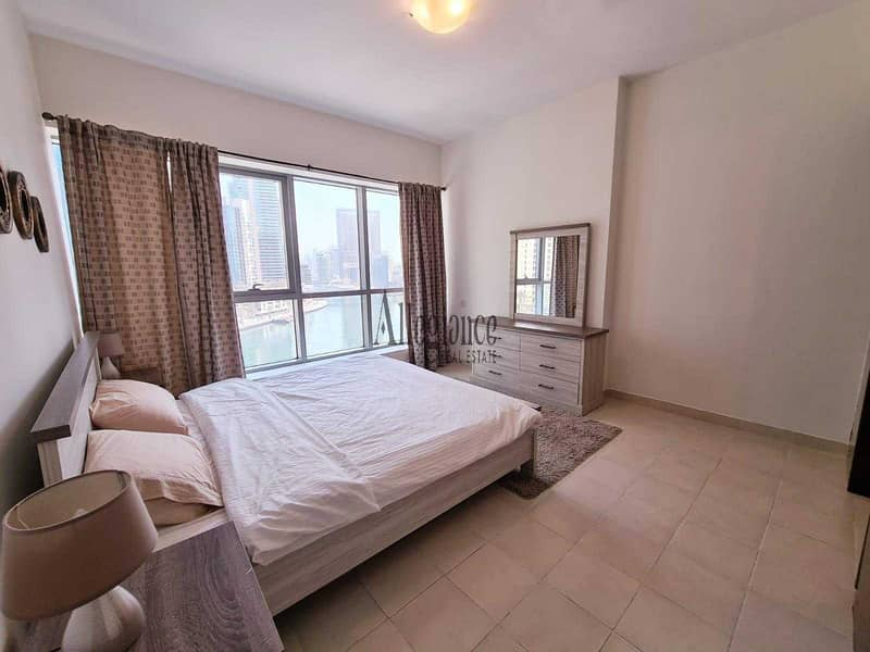 Fully Furnished   Marina View  Spacious