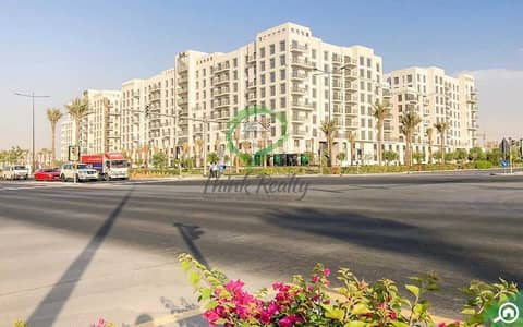 فلیٹ 2 غرفة نوم للايجار في تاون سكوير، دبي - Beautiful 2 Bedroom Apartment for Rent in Hayat Boulevard Pool View (AVAILABLE FROM 17th October 2021)