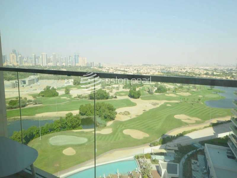Luxury Furnished 3 BR + M   Full Golf Course View