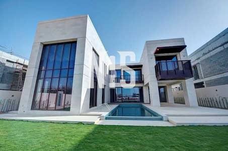 فیلا 6 غرف نوم للايجار في جزيرة السعديات، أبوظبي - Luxurious Villa with Pool   BeachFront .
