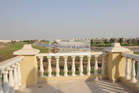 4 Bedroom Townhouse for Sale in Al Hamra Village, Ras Al Khaimah - 4BHK TA Villa with Lagoon & Golf Course View