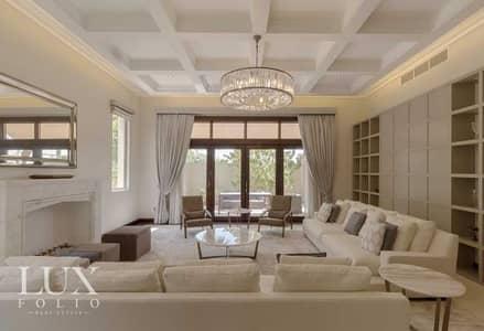5 Bedroom Villa for Sale in Al Barari, Dubai - Furnished-Vacant On Transfer-Luxury Living