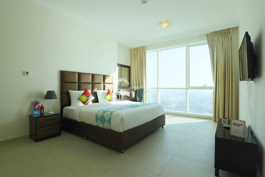 2BHK SEA VIEW FOR RENT AND SALE ON HIGHER FLOOR