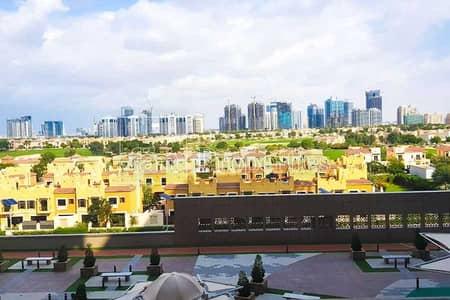 فلیٹ 1 غرفة نوم للايجار في مدينة دبي الرياضية، دبي - Golf course view   Fully Furnished Well kept unit.