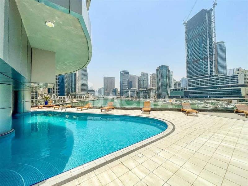 10 Full Marina View / Stunning 1 Bed / Mid Floor