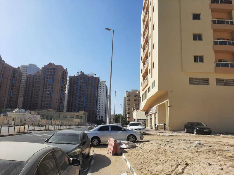 6400 SQ  FT 2 SIDES ROAD 2 SIDES SIKKA IN NUAMIYAH 1 OPPOSITE HIKMAH SCHOOL