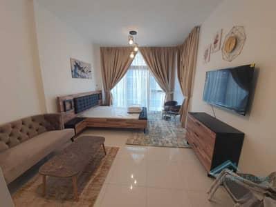 Studio for Rent in DAMAC Hills (Akoya by DAMAC), Dubai - PARK VIEW | NEW LUXURY FURNISHED | PAY MONTHY  | BIG BALCONY