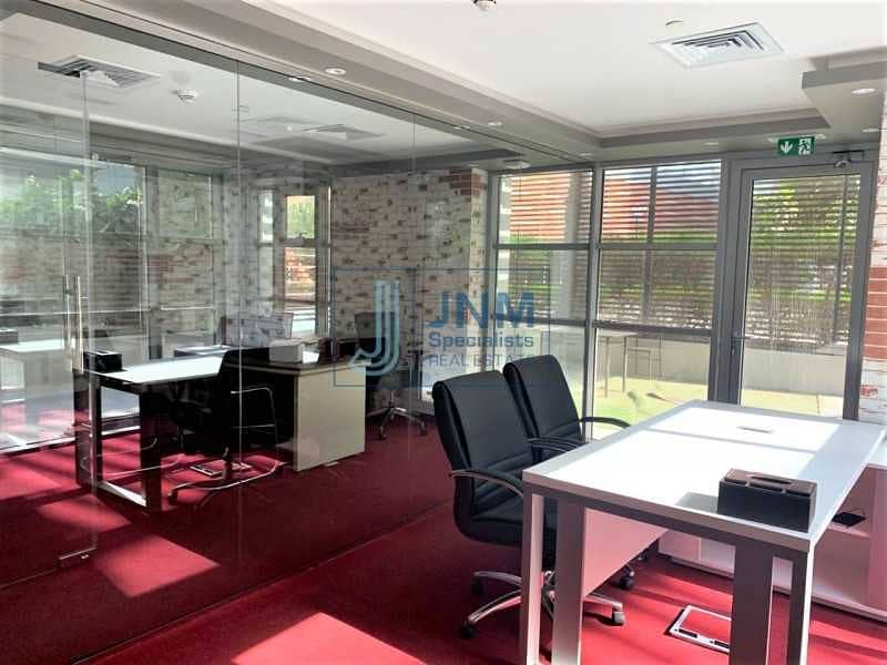 Fully Fitted Office   Vacant   Near Metro
