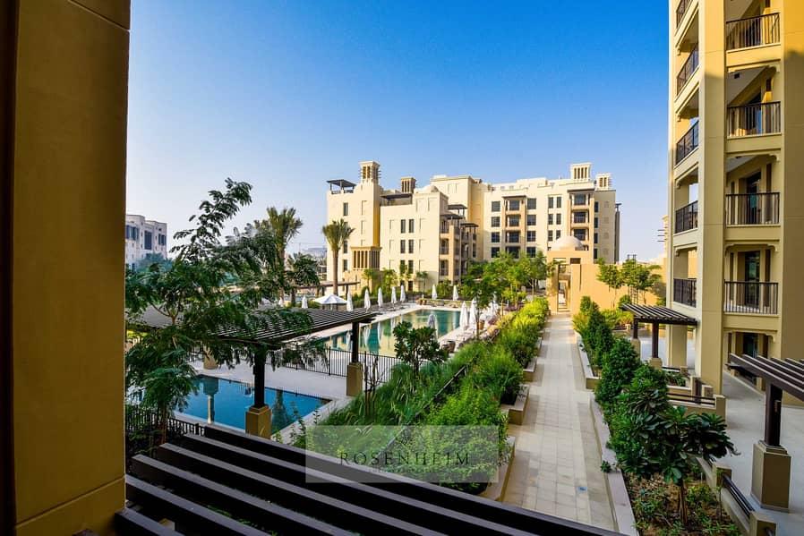 شقة في بناية لامتارا 2 لامتارا مدينة جميرا ليفينج أم سقیم 2 غرف 180000 درهم - 5384756