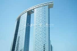 شقة في برج البوابة 3 برج البوابة شمس جيت ديستريكت جزيرة الريم 2 غرف 85000 درهم - 5384770