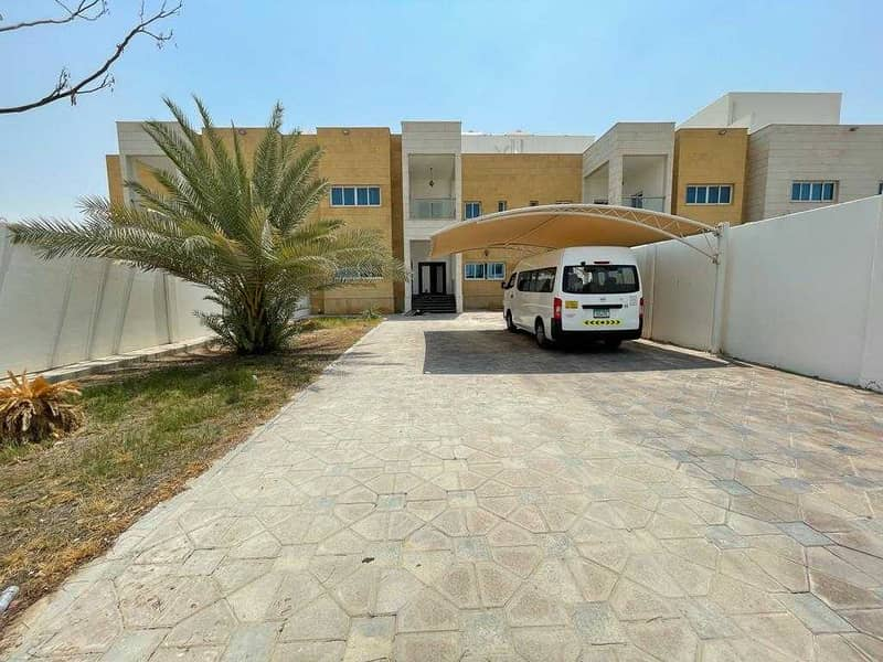Stand alone master 5 bedroom villa with private huge  garden and maids room