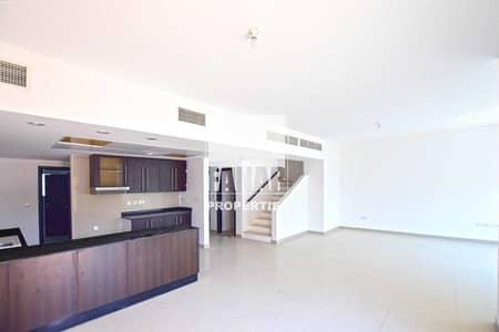 فیلا 4 غرف نوم للايجار في الريف، أبوظبي - Vacant Now | Big Layout Single Row Villa w/ Garden