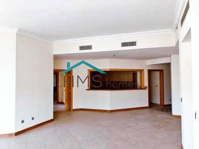 شقة 3 غرف نوم للايجار في نخلة جميرا، دبي - Vacant Now | 3 bed | High Floor