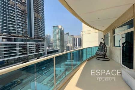 شقة 2 غرفة نوم للايجار في دبي مارينا، دبي - Furnished | Chiller Free 2 Beds | Near Metro