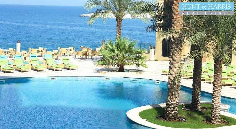 2 Sea Views - 5* Living - Al Marjan Resort - Fully Furnished
