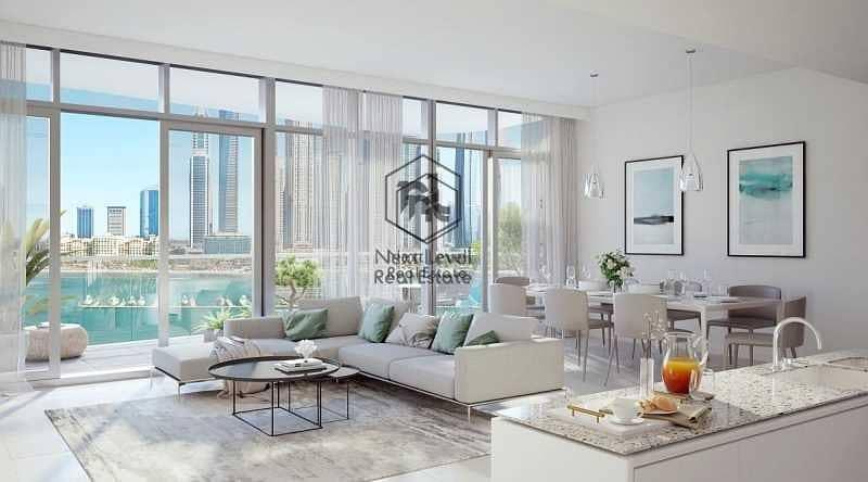شقة في مارينا فيستا تاور 1 مارينا فيستا إعمار الواجهة المائية دبي هاربور 3 غرف 4299999 درهم - 5385441