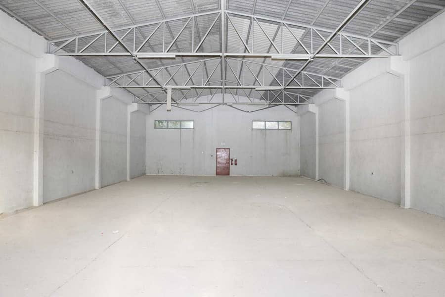 Warehouse for Storage & Garage Purposes   Civil Defense Approved