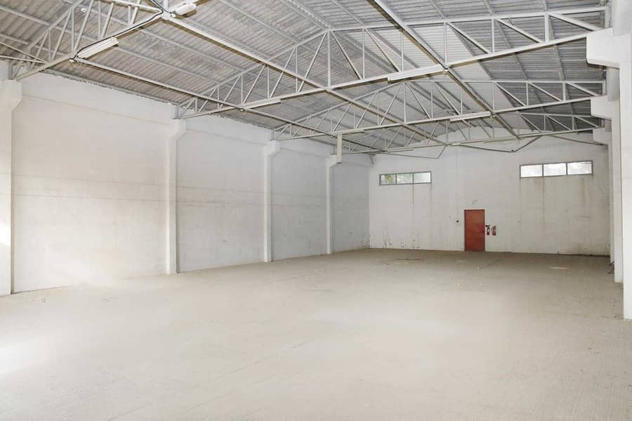 2 Warehouse for Storage & Garage Purposes   Civil Defense Approved