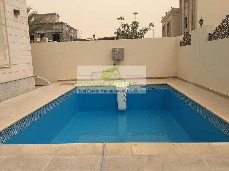 13 Fantastic 1 Bedroom W/ Shared Pool in Khalifa City A