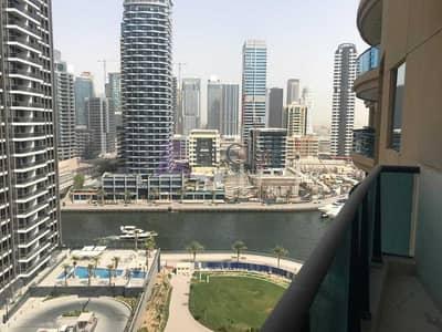 شقة 2 غرفة نوم للبيع في دبي مارينا، دبي - Marina View | Spacious 2 Bed |Partially Furnished