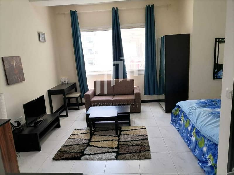 Fully Furnished Studio   With Parking   Ready