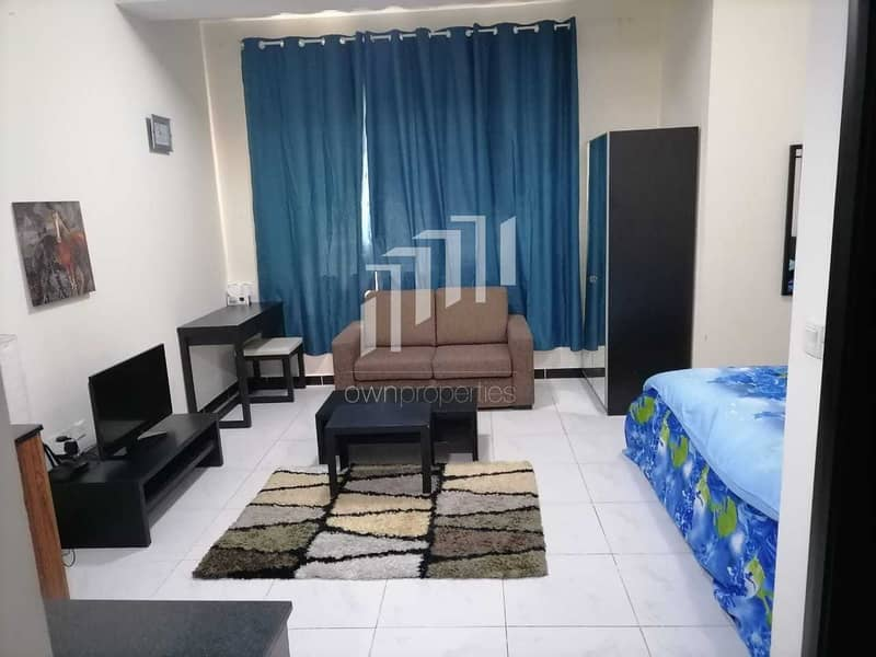 2 Fully Furnished Studio   With Parking   Ready