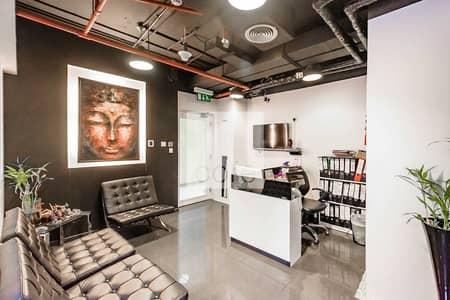 مکتب  للبيع في أبراج بحيرات الجميرا، دبي - Fitted Office | High Floor | Close to Metro