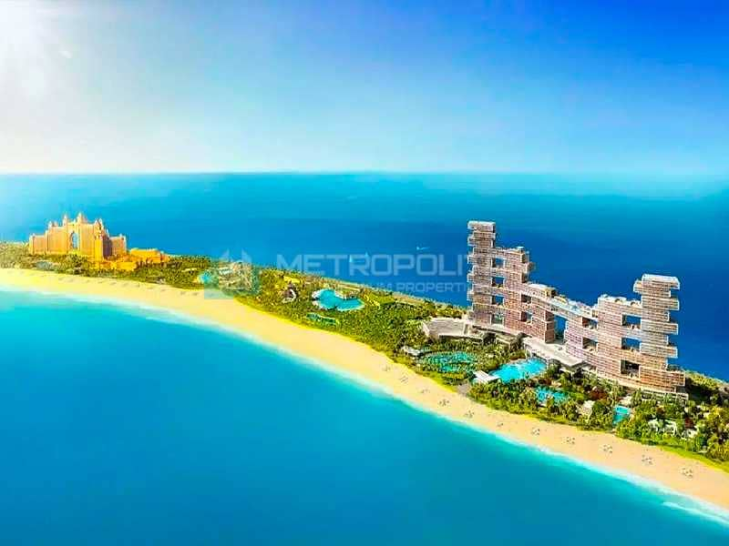 Sea and Palm View | Luxurious Living | High Floor