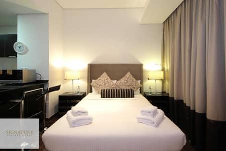 Studio for Rent in Dubai Sports City, Dubai - Luxury furnished studio in Matrix Tower, all bills included
