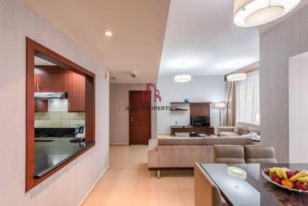 فلیٹ 4 غرف نوم للايجار في جميرا بيتش ريزيدنس، دبي - Furnished  All Bills Included  Sea View