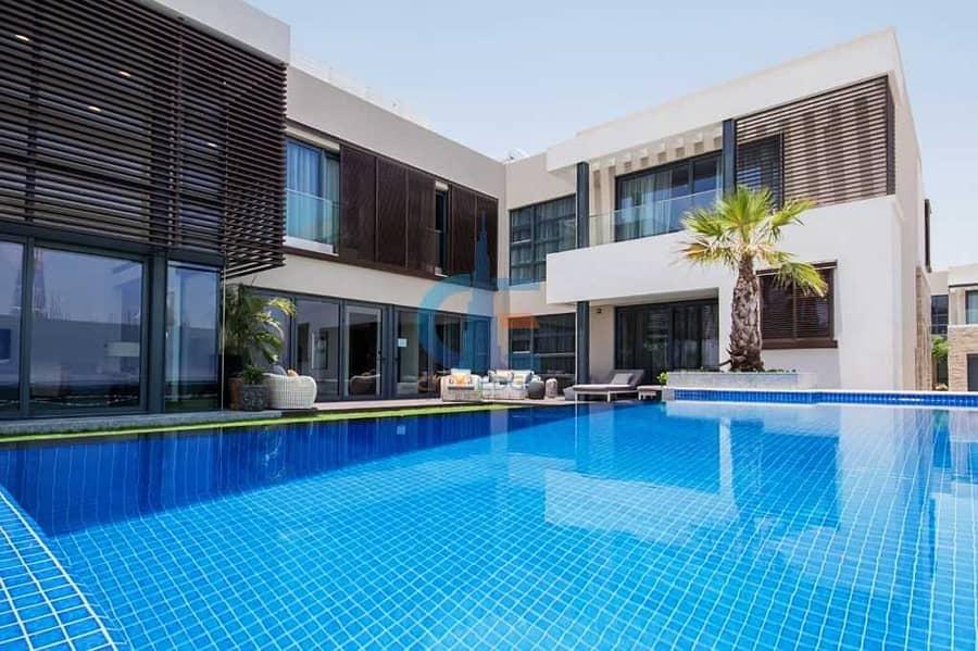 تملك أفخم فيلا بدبي 5 غرف نوم بمساحة شاسعة  11.000 قدم مربع مع مسبح خاص بقلب دبي / مدينة شوبا ند الشبا