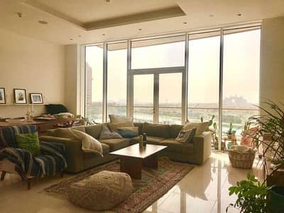 2 Bedroom Flat for Rent in Palm Jumeirah, Dubai - Full Sea View Atlantis The Palm I Huge Balcony I Maids Room