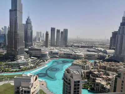 2 Bedroom Flat for Rent in Downtown Dubai, Dubai - Luxurious View | Fully Furnished | High Floor