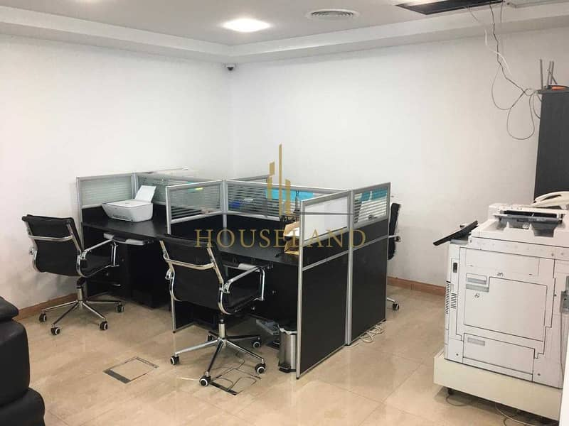 Full Lake View   Fully Fitted Office   Cluster T