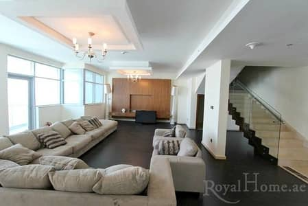3 Bedroom Apartment for Rent in Dubai Marina, Dubai - Fully Renovated 3 B/R Penthouse for Rent