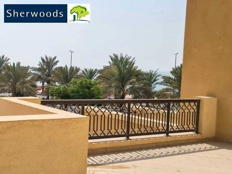 2 Spacious Apartment with Large balcony - Sea View