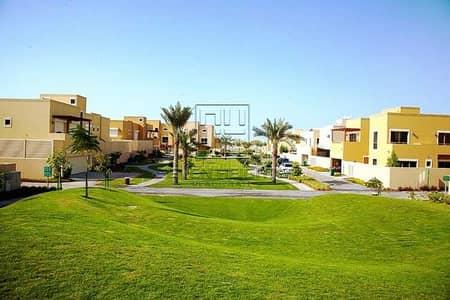 3 Bedroom Townhouse for Sale in Al Raha Gardens, Abu Dhabi - Amazing Corner Villa 3 BR+Maidroom .